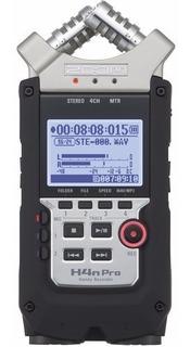 Gravador Áudio Zoom H4n Pro Digital Handy Recorder 4 Canais