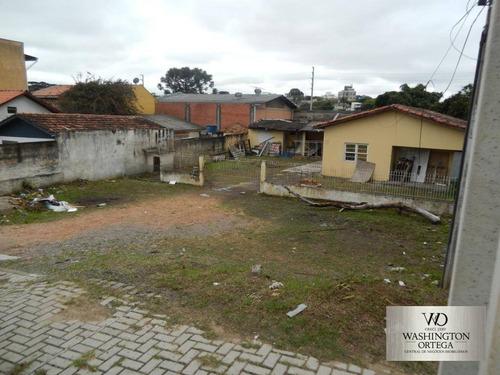 Imagem 1 de 4 de Terreno À Venda, 609 M² Por R$ 1.580.000,00 - São Cristóvão - São José Dos Pinhais/pr - Te0060