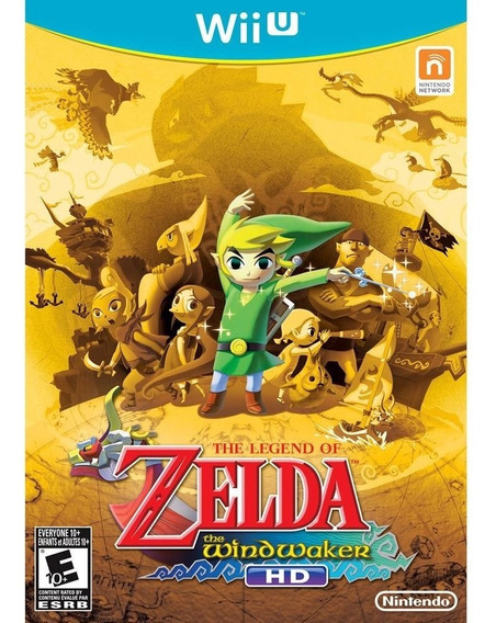 The Legend Of Zelda The Wind Waker Nintendo Wii U Novo!
