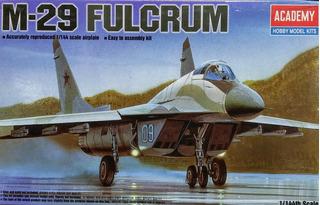 M-29 Fulcrum Escala 1/144 Academy 12615