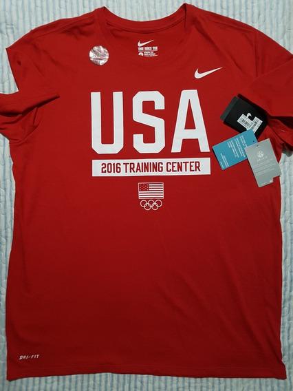Polera Nike Talla Xl Original Deportiva Color Roja