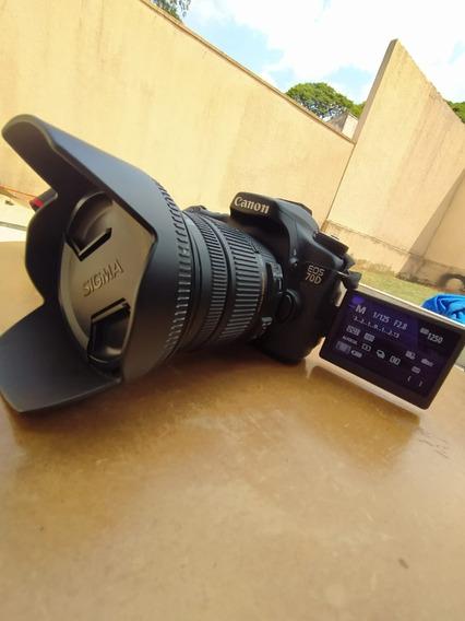 Canon 70d + Sigma 17-50 2.8 - Excelente Kit Melhor