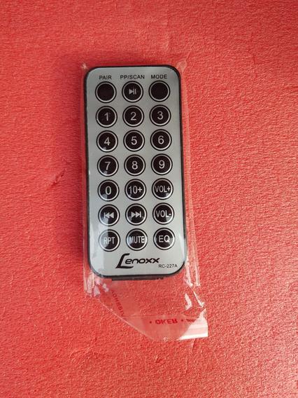 Controle Remoto Lenoxx Caixa Ca 318 Rc 227 Original Novo