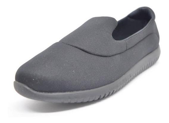 Sapatos Femininos Tenis Confort Lycra Preto Dani K