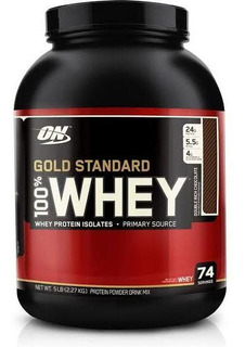 100% Whey Gold Standard Double Rich Chocolate - 2,27g