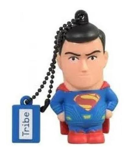 Imagen 1 de 2 de Memoria Usb Superman Liga De La Justicia 32 Gb