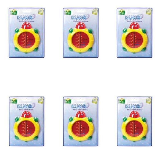 Kuka 7171 Termômetro Tartaruga Banho (kit C/06)