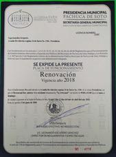Vendo Licencia, Con Giro De Restauran Bar, Musica En Vivo.