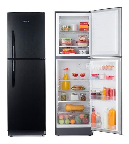 Imagen 1 de 10 de Heladera Con Freezer 299 Lts Patrick Hpk136n Platino Outlet