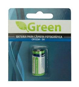 Bateria 3v Cr 123 - 5 Peças