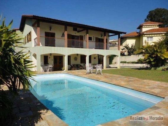 Casa De 05 Dormitórios - Granja Viana - Ca1615