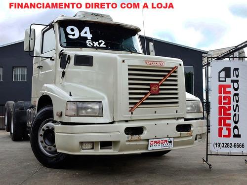 Volvo 340 6x2 1994 = Ent R$ 30.000.00 + 24 X R$ 1.480.00