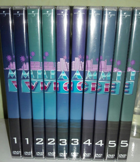 Dvd Box Miami-vice - Série Completa Dublada ( 32 Dvds )