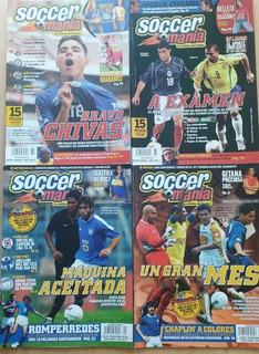Colección De Revistas Soccer Manía