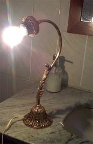 Luminaria De Bronze Antiga