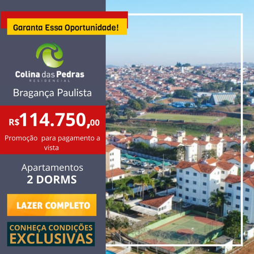 Imagem 1 de 11 de Apartamento Em Bragança Paulista