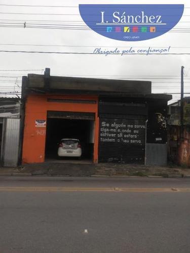 Salão Comercial Para Locação Em Itaquaquecetuba, Mandi, 2 Banheiros - 200227a_1-1365309