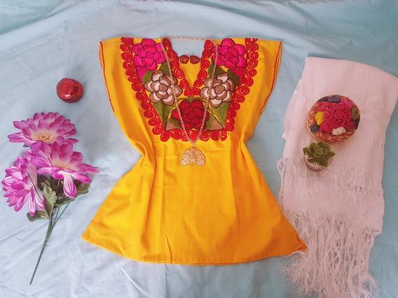 Hermosas Blusas Artesanales De Oaxaca