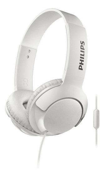 Fone De Ouvido Philips Com Microfone P/ Celular Tablet Pc