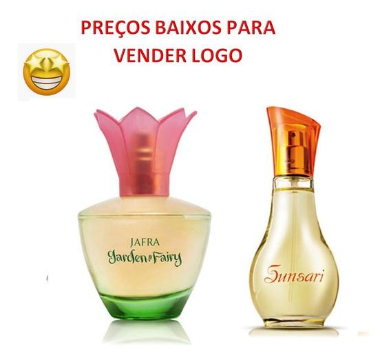 Jafra Perfumes Garden And Fairy + Sunsari