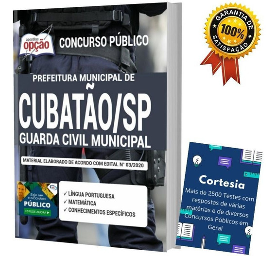 Apostila Guarda Civil Municipal Prefeitura Cubatão Sp