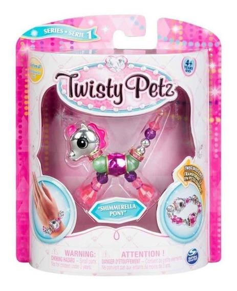 Twisty Petz Pulseira - Single Shimmerella Pony - Sunny
