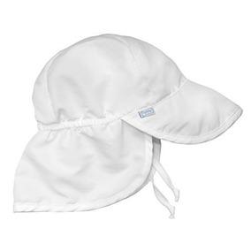 Yo Juego. Baby Flap Sombrero De Protección Solar, Blanco, 9-