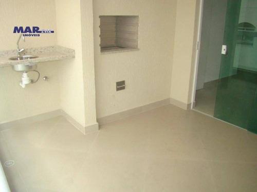 Imagem 1 de 9 de Apartamento Residencial À Venda, Centro, Guarujá - . - Ap10210