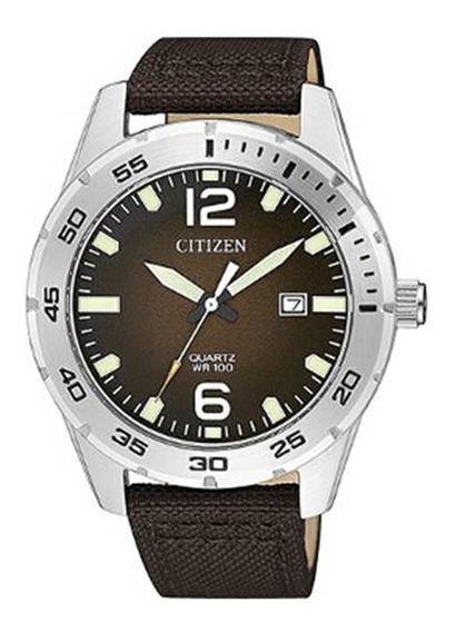 Reloj Hombre Citizen Bi1041-14x Acero Deportivo Color Café