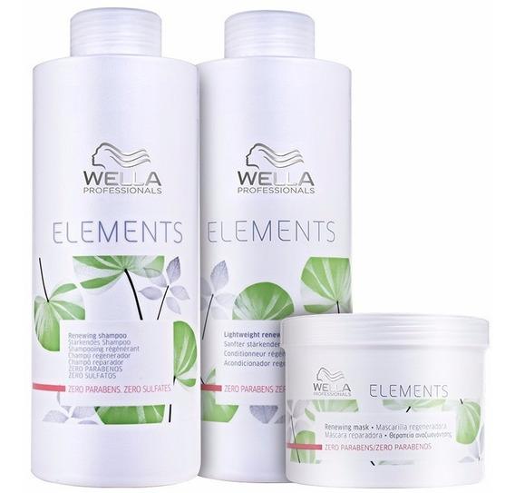 Wella Professionals Kit Elements (3 Produtos)
