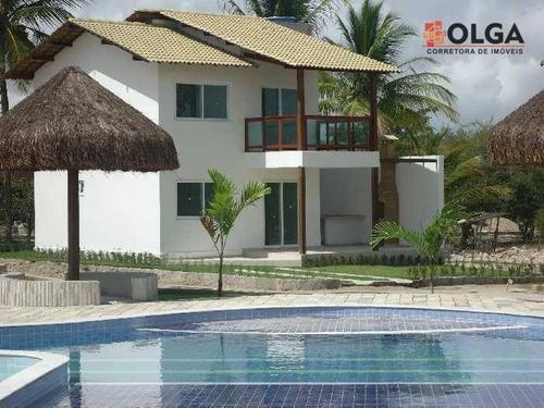 Imagem 1 de 30 de Village Com 4 Dormitórios À Venda, 117 M² Por R$ 427.500,00 - Prado - Gravatá/pe - Vl0049