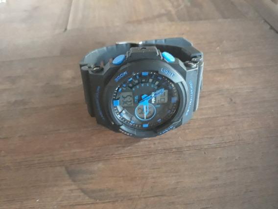 Reloj De Pulsera Digital Beswlz Multifunción Dual Time Sport