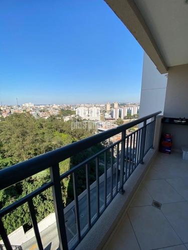 Apartamento Com Armários Planejados, Piso De Madeira E Porcelanato. - Pp16776