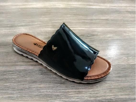 Slide Feminino Mississipi Confort Preto X9633