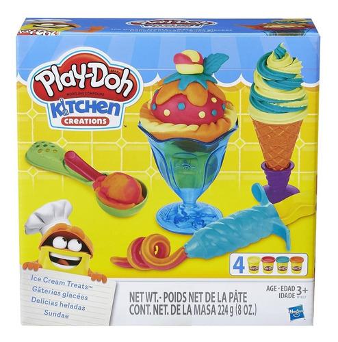 Play Doh Delicias Heladas