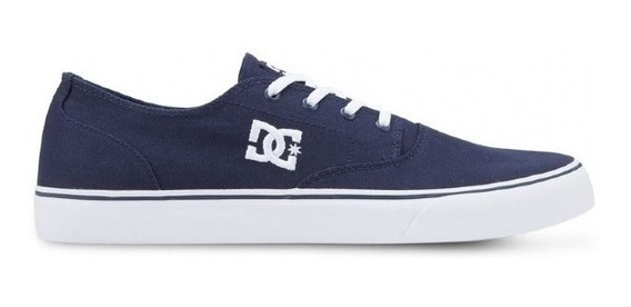 Tênis Masculino Dc Shoes New Flash 2 Tx Navy White
