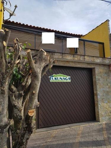 Sobrado Com 3 Dormitórios, 195 M² - Venda Por R$ 580.000,00 Ou Aluguel Por R$ 2.300,00/mês - Parque Continental - Guarulhos/sp - So0371