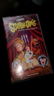 Película Scooby Doo Cuentos Escalofriantes Vhs