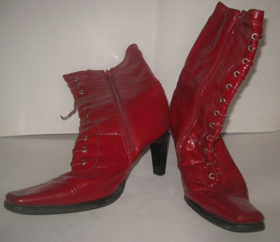 Limipia Closet Bota Color Rojo Marca