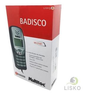 Badisco Digital Telefonia Identificador Chamada Lcd