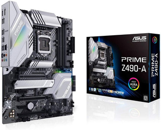 Motherboard Asus Prime Z490-a S-1200 Intel Nvidia Aura Sync