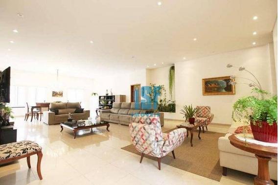 Sobrado Com 4 Dormitórios À Venda, 400 M² Por R$ 3.000.000 - Vila Indiana - São Paulo/sp - So4724. - So4724