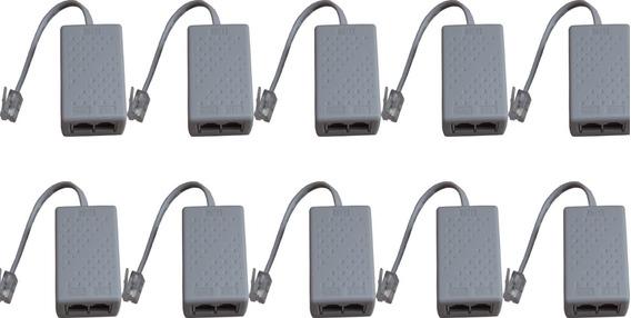 Microfiltro Agcom Vdsl Para Teléfono E Internet X 10