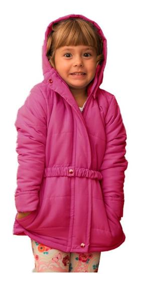 Casaco Infanto Juvenil Com Cinto Elástico - Inverno