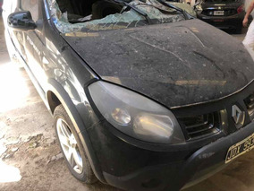 Renault Sandero Stepwai Trompa Ruedas Y Airbags Sanos