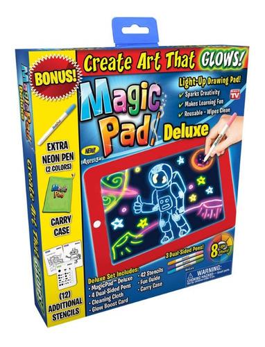 Tableta De Dibujo Con Luz Led Ontel Magic Pad