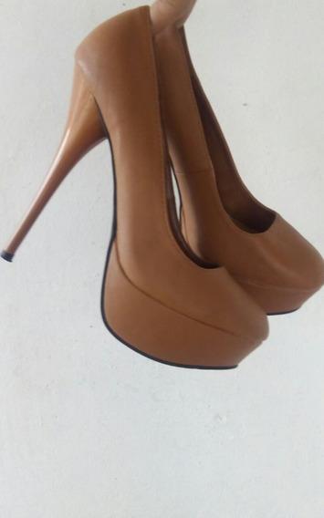 Zapatos De Cuero Clasicos, Núm, 35, Salta