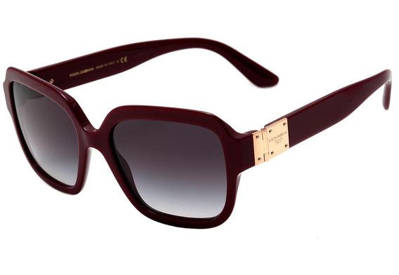 Dolce & Gabbana Dg 4336 - Óculos De Sol 3091/8g Vinho Brilho