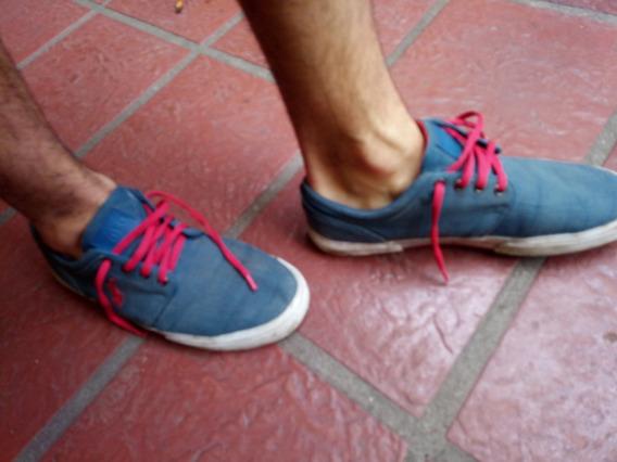 Zapatillas Azules Marca Polo Talle 43