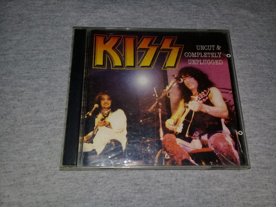 Kiss - Uncut & Completely Unplugged Cd Doble Impecable